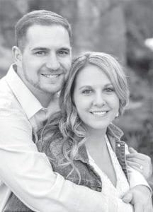 Landon Drewes and Ashley Eicher